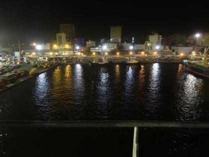 à l'approche de Dakar le 31 décembre