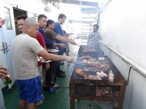 2017-01-07 barbecue de langoustes et viandes 8