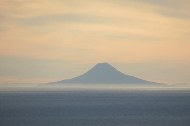 Alaska : crépuscule à Homer